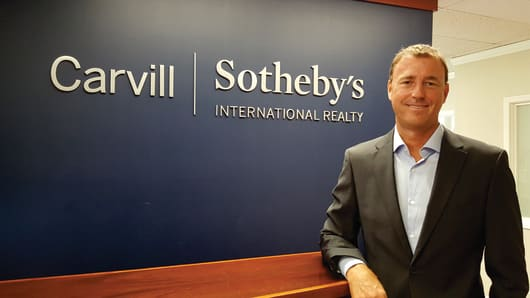 By partnering with Sotheby's International, Scott Carvill said his boutique firm now has the benefit of international marketing and a more sophisticated and integrated website.