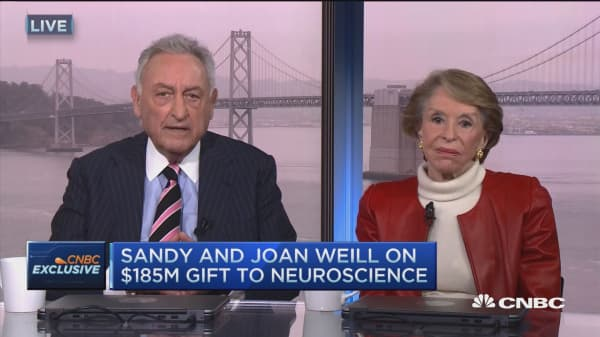 Sandy & Joan Weill's $185M gift to neuroscience