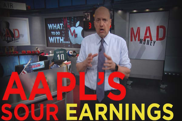 Cramer Remix: The issue with Apple