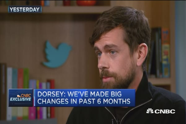 Dorsey makes big changes at Twitter