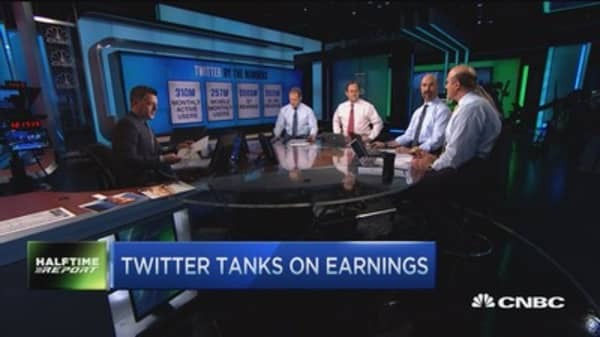 Trader: My 4 characters on TWTR are 'sell'