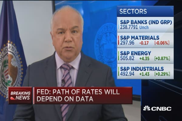 Rates unchanged in Fed statement