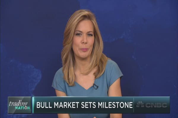Bull market sets major milestone