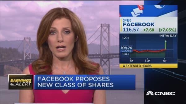 Facebook quarterly results blow past estimates