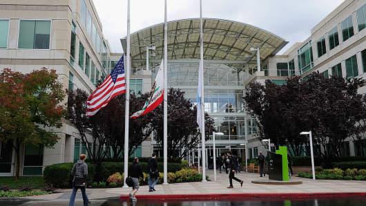 Apple Headquarters in Cupertino, California
