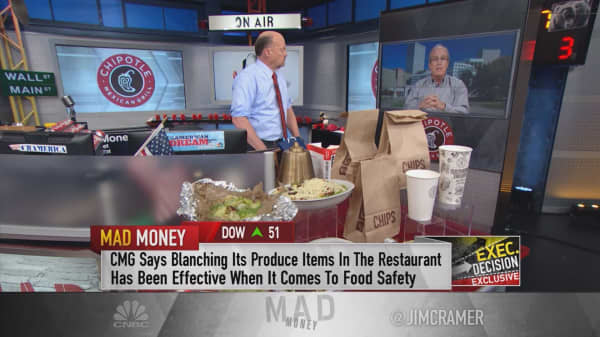 Chipotle CFO: We bottomed in January