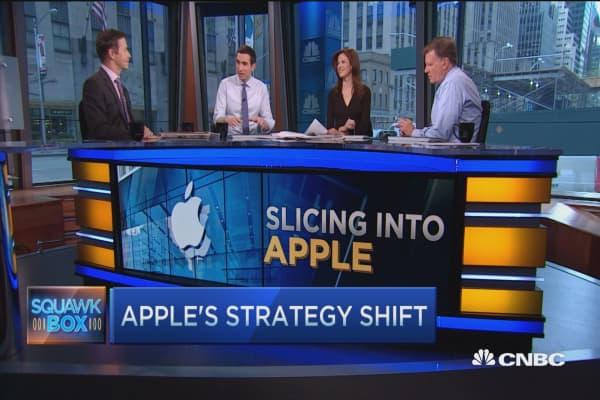 Slicing into Apple's quarter: Pro