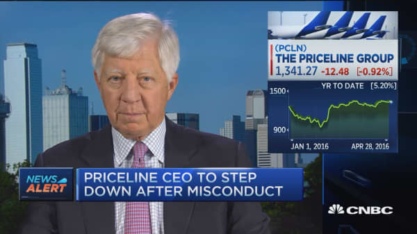 Huge loss for Priceline: Bill George