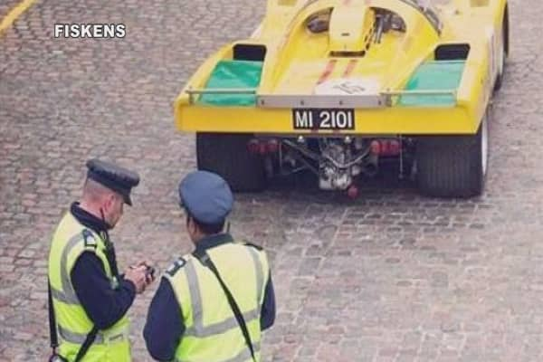 $15M Ferrari gets ticketed during London photo shoot