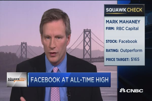 Two reasons FB can sustain growth: Mahaney