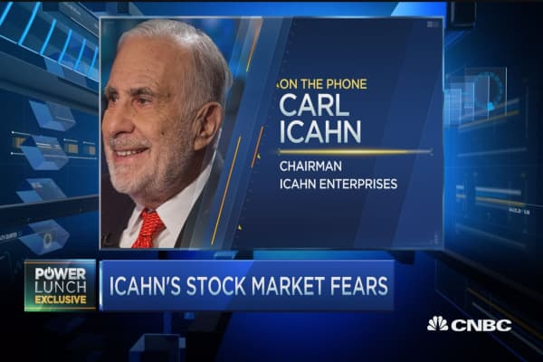 Icahn on markets: I'm still cautious
