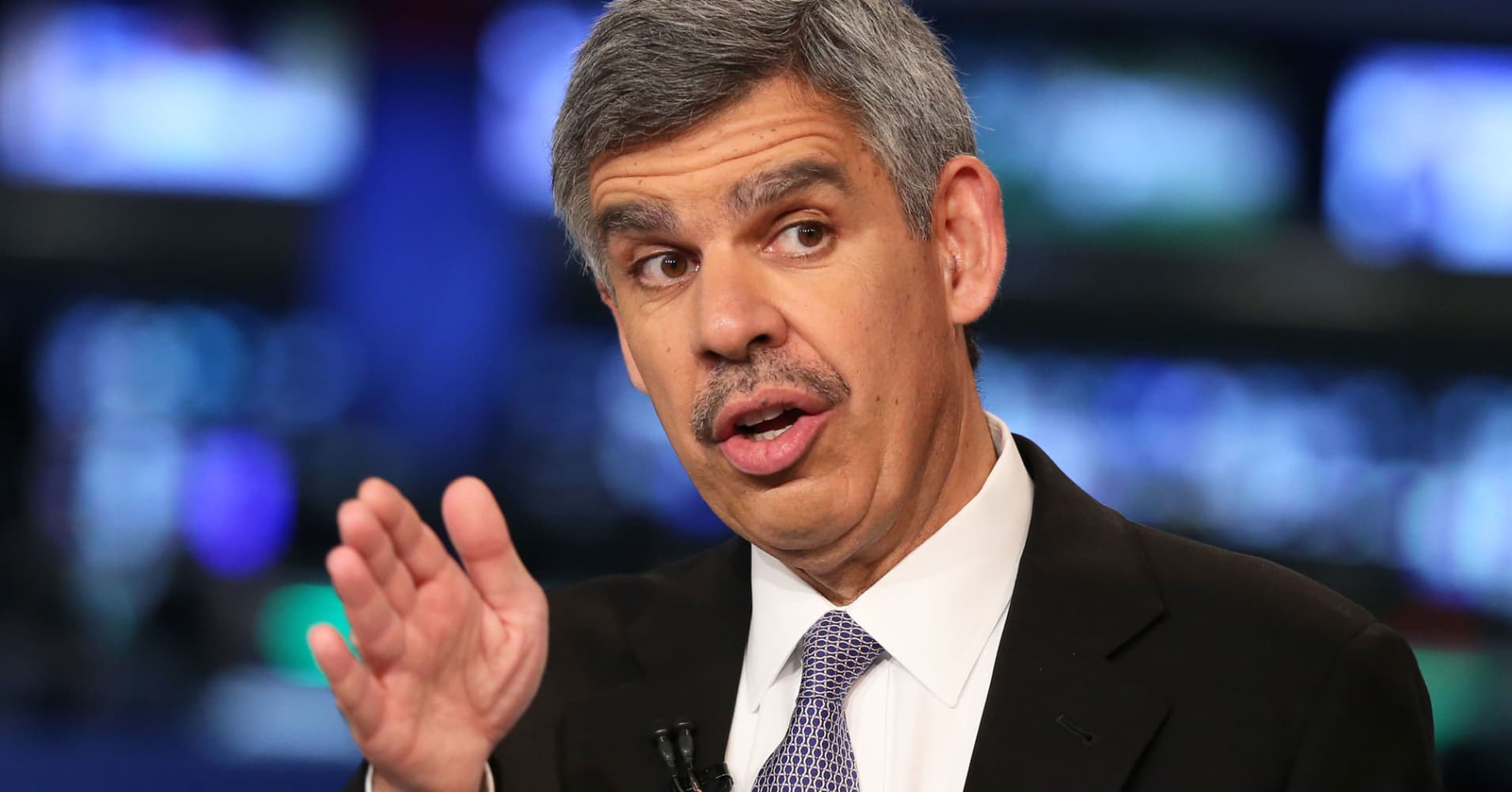 Mohamed El-Erian isn't concerned about a global trade war but sees another major risk for the market
