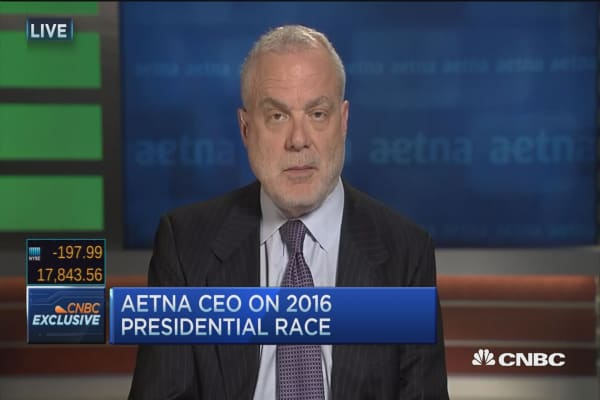 Aetna CEO: Tight connection between cost of drugs and premiums