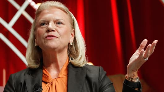 IBM revenue is down for the 21st quarter in a row