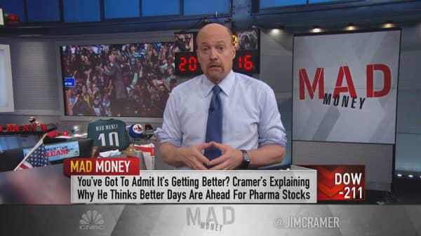 Cramer: Raging bull market brewing for pharma