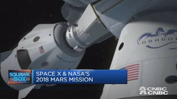 Space X & NASA's 2018 Mars mission
