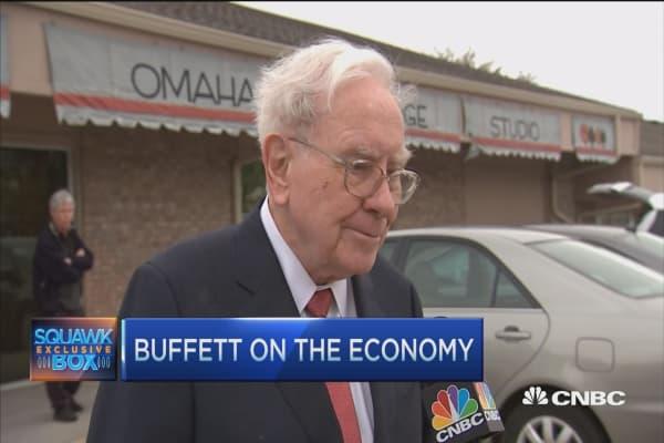 Buffett on the economy