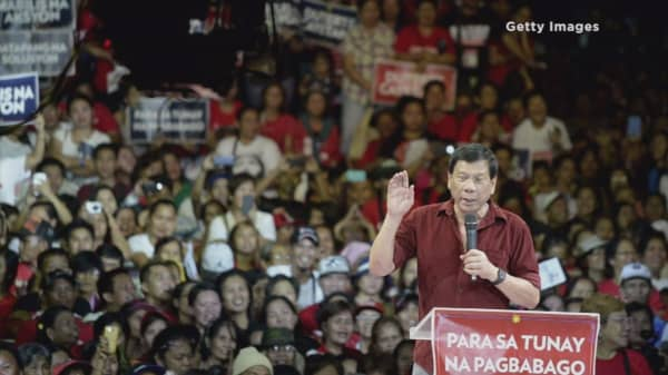 Asia's own Donald Trump may become the Philippines' next president