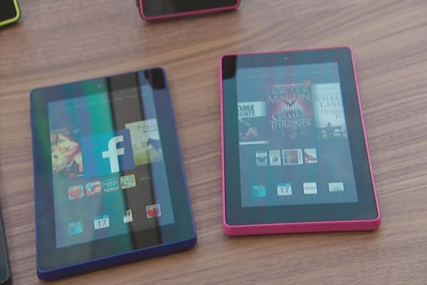 Amazon tablet shipments spike 5,421%
