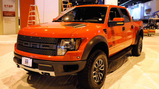 A 2012 Ford F-150 4x4 Supercrew