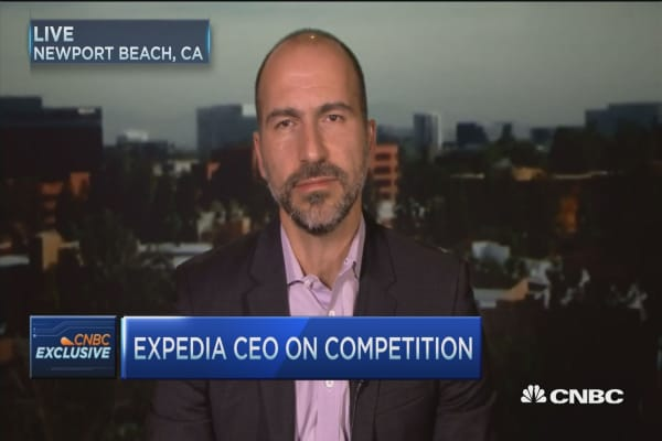 Airbnb terrific competitor: Expedia CEO