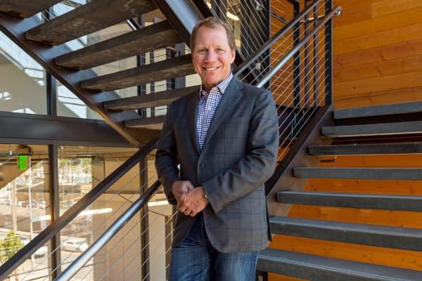 Jim Weber CEO Brooks Running
