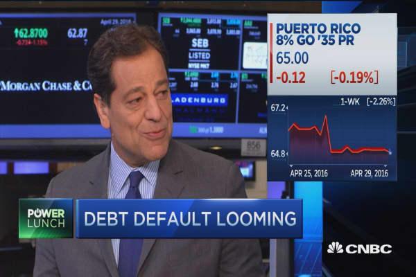 Puerto Rico's looming default