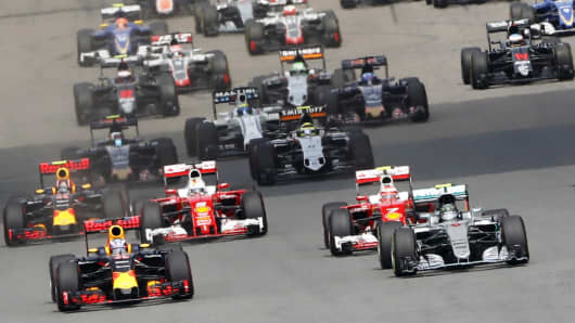 Chinese Grand Prix, Formula 1, racing, race cars, car race