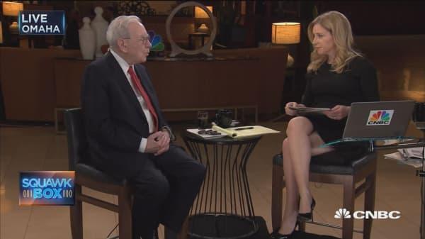 Buffett on American Express and buybacks