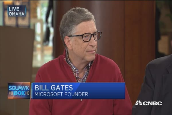 Bill Gates: Impact of low rates