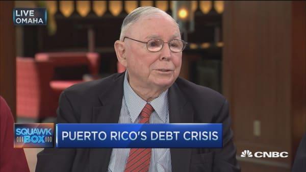 Buffett on Puerto Rico's debt crisis