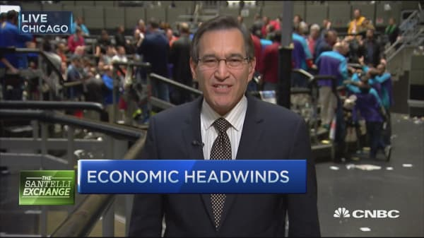 Santelli Exchange: 'Self-inflicted' recovery