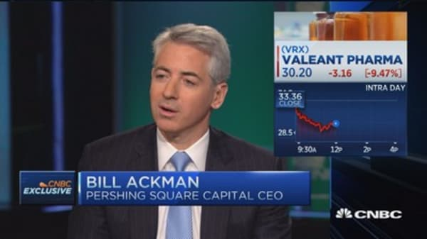 Ackman: Valeant made 'some mistakes,' is fixing them