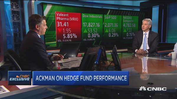 Bill Ackman on hedge funds