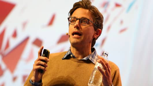 BuzzFeed founder and CEO Jonah Peretti