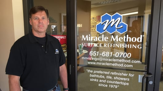 After 18 years as an aircraft mechanic for Northwest Airlines, Matt Mozingo decided to utilize his skill set with his own franchise.