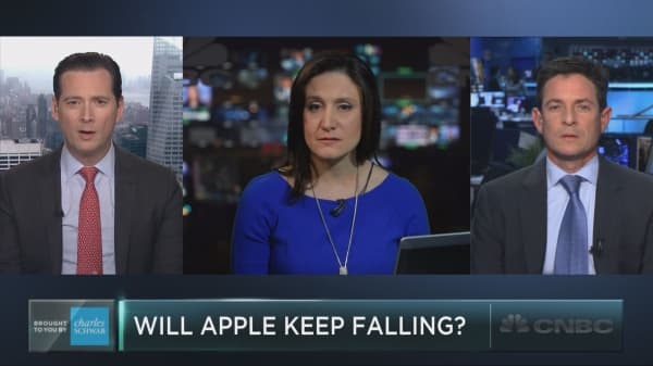 Is Apple set to sink even further?