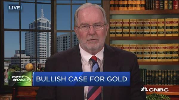 Gold going 10-15% higher?