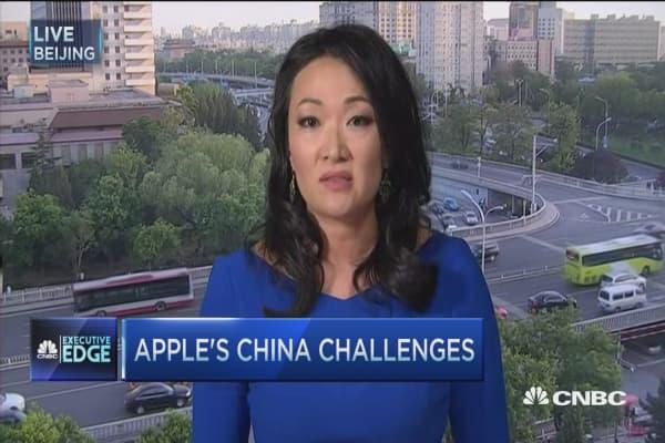 Executive Edge: Apple's China focus