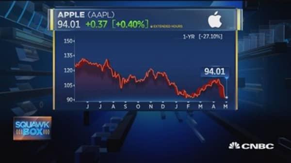 Cramer's Apple takeaway