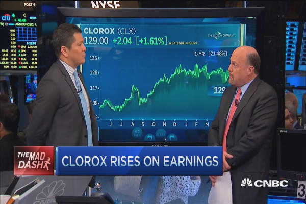 Cramer's Mad Dash: Clorox
