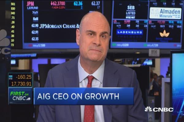 AIG CEO on growth