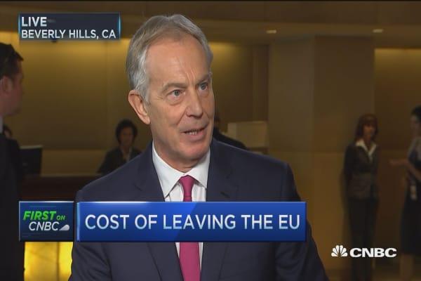 Tony Blair on the record