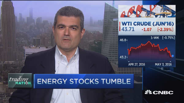 Trading Nation: Energy stocks tumble