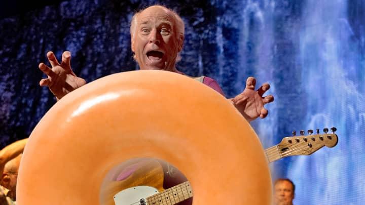 Jimmy Buffett owns a Krispy Kreme franchise in West Palm Beach, Fla.