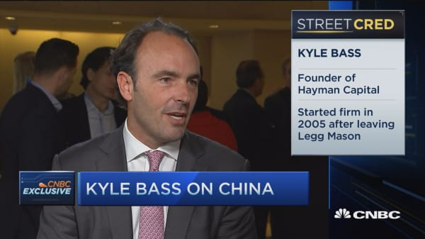 Kyle Bass talks betting against China
