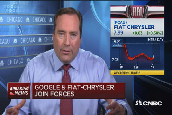 Google & FCA partnership
