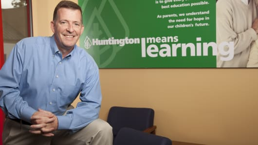 Brian Riddick of Huntington Learning Center