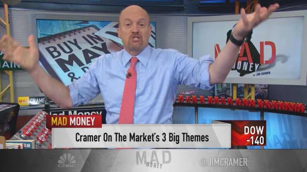 Cramer: Despite stocks falling—3 signals make me bullish