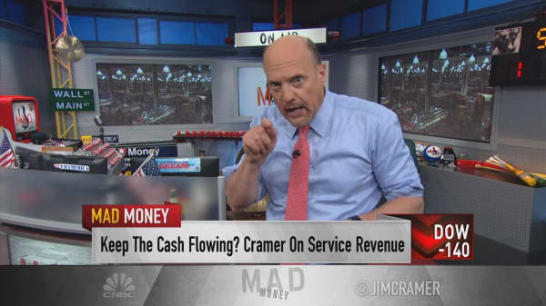 Cramer: The Holy Grail behind Apple's revenue